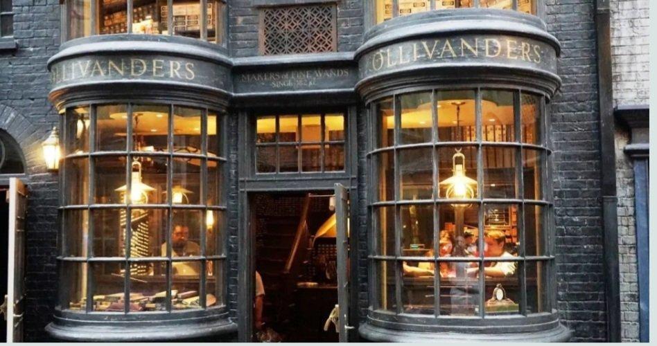 Harry potter negozio bacchette ollivanders